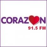 Logo da emissora Radio Corazón 91.5 FM