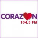 Logo da emissora Radio Coraz�n 104.5 FM
