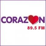 Logo da emissora Radio Corazón 89.5 FM