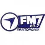 Logo da emissora Radio FM7 97.3