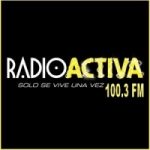 Logo da emissora Radio Activa 100.3 FM