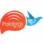 Logo da emissora Radio Palabras de Vida 95.7 FM