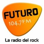 Logo da emissora Radio Futuro 104.7 FM