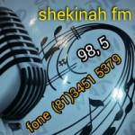 Logo da emissora Rádio Shekinah 98.5 FM