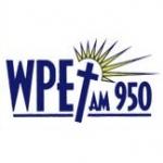 Logo da emissora WPET 950 AM