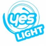 Logo da emissora Rede Yes Light