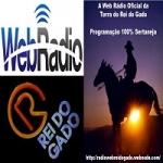 Logo da emissora Web Rádio Rei do Gado