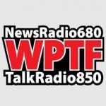 Logo da emissora WPTF 680 AM