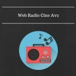 Logo da emissora Web Rádio Cine Av2