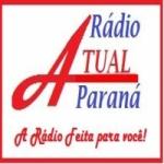 Logo da emissora R�dio Atual Parana