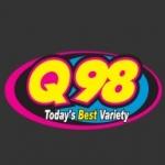 Logo da emissora WQSM 98 FM