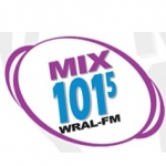 Logo da emissora WRAL 101.5 FM