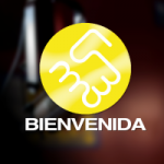 Logo da emissora Radio Bienvenida 105.1 FM
