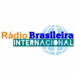 Logo da emissora Rádio Brasileira Internacinal
