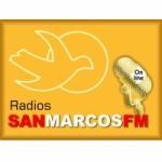 Logo da emissora Radio San Marcos 107.7 FM