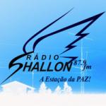 Logo da emissora R�dio Shallon 87.9 FM