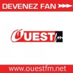 Logo da emissora Radio Ouest 104.9 FM