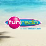 Logo da emissora Fun Radio Guyane 102.9 FM