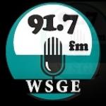 Logo da emissora WSGE 91.7 FM