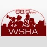Logo da emissora WSHA 88.9 FM