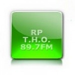 Logo da emissora Radio RP The Hot One 89.7 FM