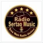 Logo da emissora Rádio Sertao Music