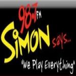 Logo da emissora WSMW 98.7 FM