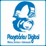 Logo da emissora Planet�rios Digital