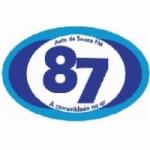 Logo da emissora Rádio Auto de Souza 87.9 FM