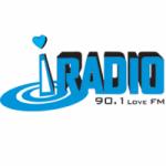 Logo da emissora iRadio 90.1 Love FM