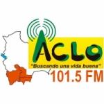 Logo da emissora Radio ACLO 101.5 FM