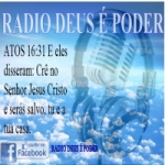 Logo da emissora R�dio Deus � Poder