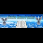 Logo da emissora Rádio Deus é Poder