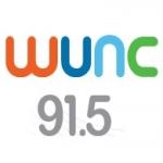 Logo da emissora WUNC NPR 91.5 FM