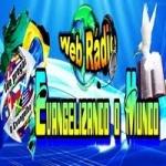 Logo da emissora Rádio Evangelizando o Mundo
