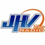 Logo da emissora Radio JHV 93.7 FM