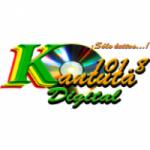 Logo da emissora Radio Kantuta 101.8 FM