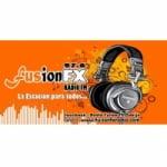 Logo da emissora Radio Fusion FX 97.6 FM
