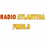 Logo da emissora Radio Atlantica 88.9 FM