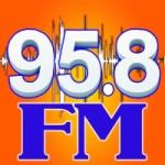 Logo da emissora Radio La Tremenda 95.8 FM