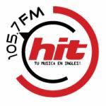 Logo da emissora Radio Hit 105.7 FM