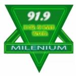 Logo da emissora Radio Milenium 91.9 FM