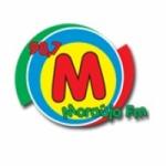 Logo da emissora R�dio Moraujo 98.7 FM