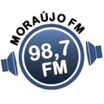 Logo da emissora Rádio Moraujo 98.7 FM