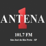 Logo da emissora Rádio Antena 1 101,7 FM