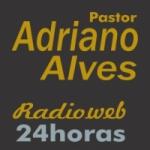 Logo da emissora Rádio Pastor Adriano Alves