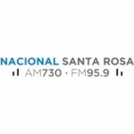 Logo da emissora Radio Nacional 730 AM 95.9 FM