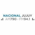 Logo da emissora Radio Nacional 790 AM 94.1 FM