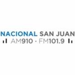 Logo da emissora Radio Nacional 910 AM 101.9 FM