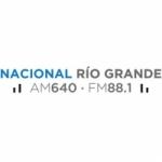 Logo da emissora Radio Nacional 640 AM 88.1 FM
